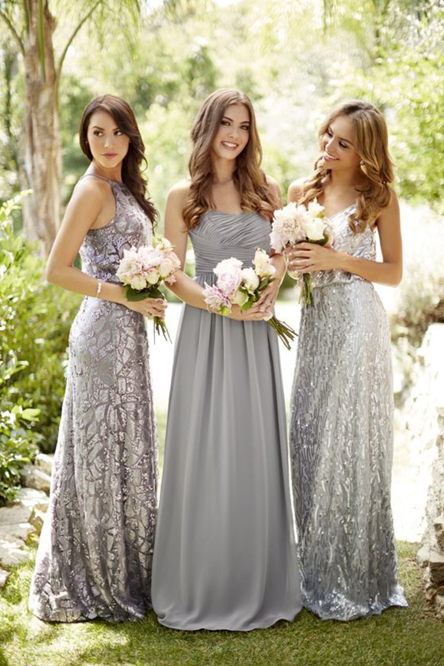 Find The Right Metallic For Your Wedding - Shimmer with silver | CHWV