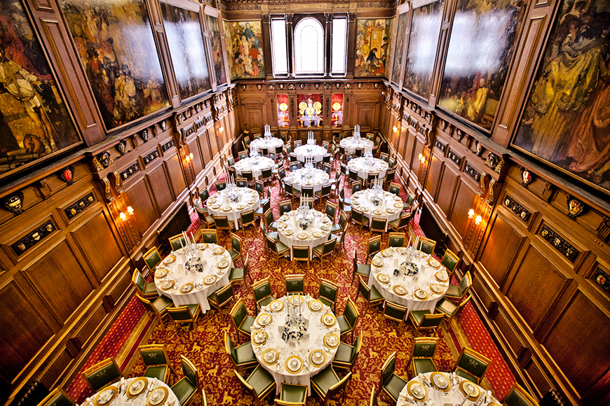 The Best Of British Wedding Venues - Skinners' Hall | CHWV