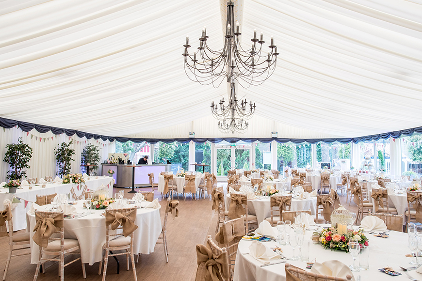 6 Incredible Norfolk Wedding Venues - Thursford Garden Pavilion | CHWV