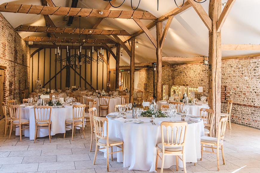 11 Barn Wedding Venues For A Rustic Wedding - Upwaltham Barns | CHWV