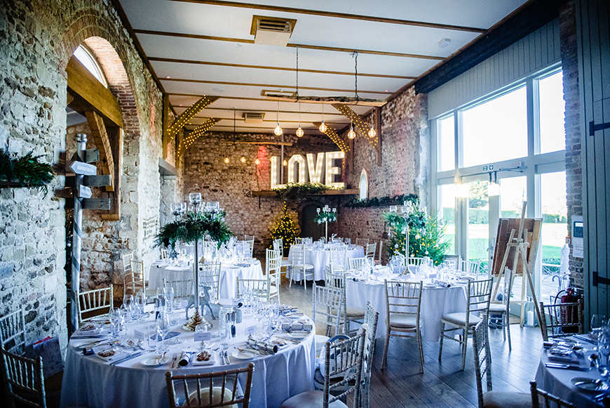 7 Venues For A Winter Wedding - Pentney Abbey | CHWV