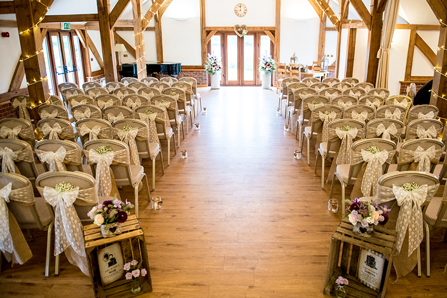 9 Incredible Wedding Venues With Accommodation - Sandhole Oak Barn | CHWV