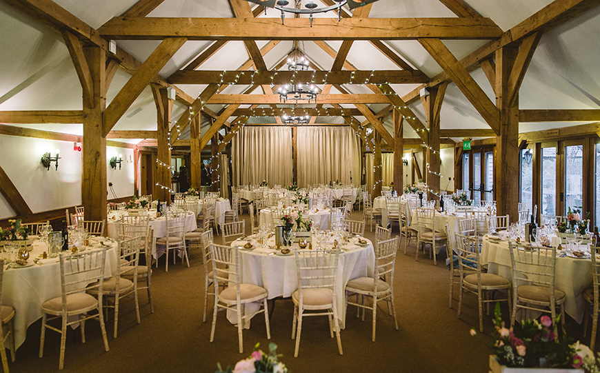 11 Wedding Venues With The Most Amazing Accommodation - Sandhole Oak Barn | CHWV