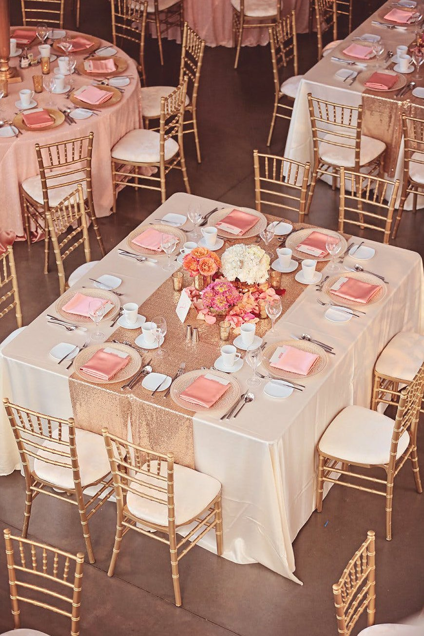 Wedding Ideas By Colour: Rose Gold Wedding Theme - Décor and Details | CHWV