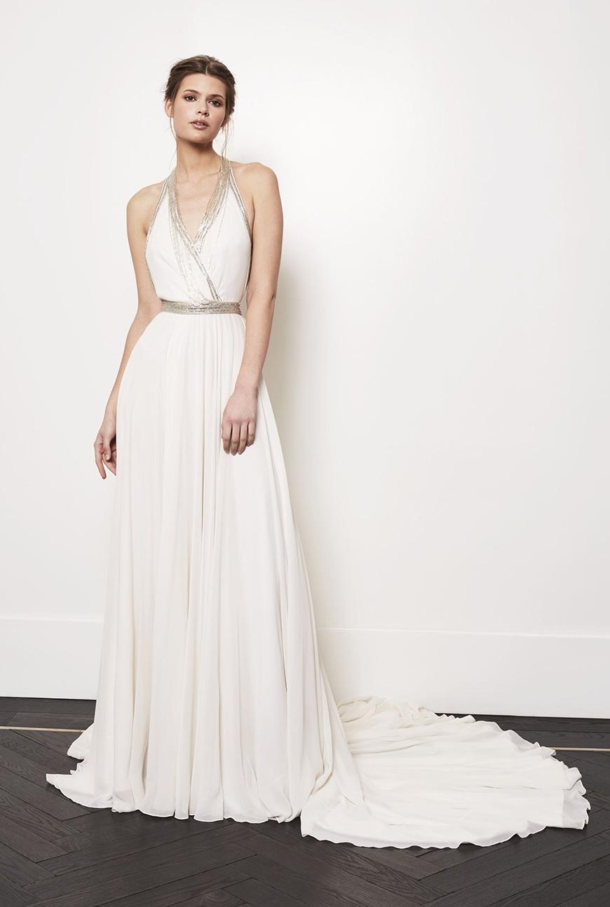 A Closer Look At Amanda Wakeley Wedding Dresses - Carmenta | CHWV