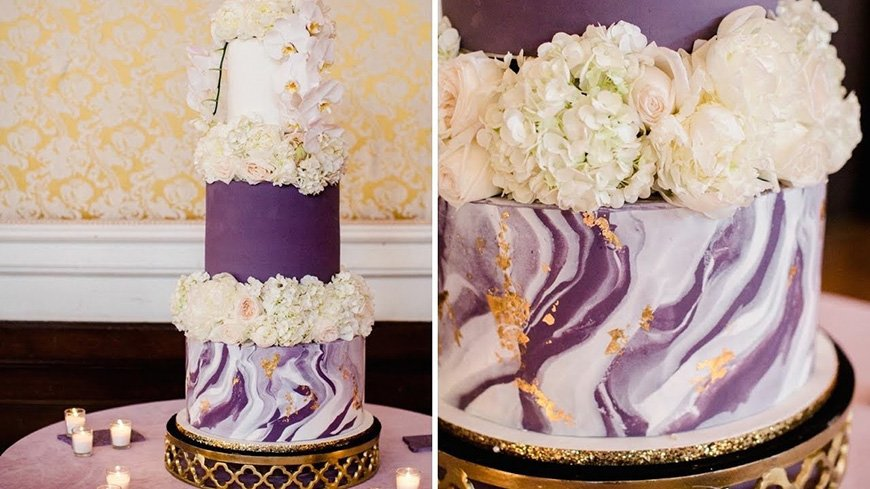 Purple wedding decorations wedding ideas by colour chwv wedding ideas by colour purple wedding decorations have your cake chwv junglespirit Image collections