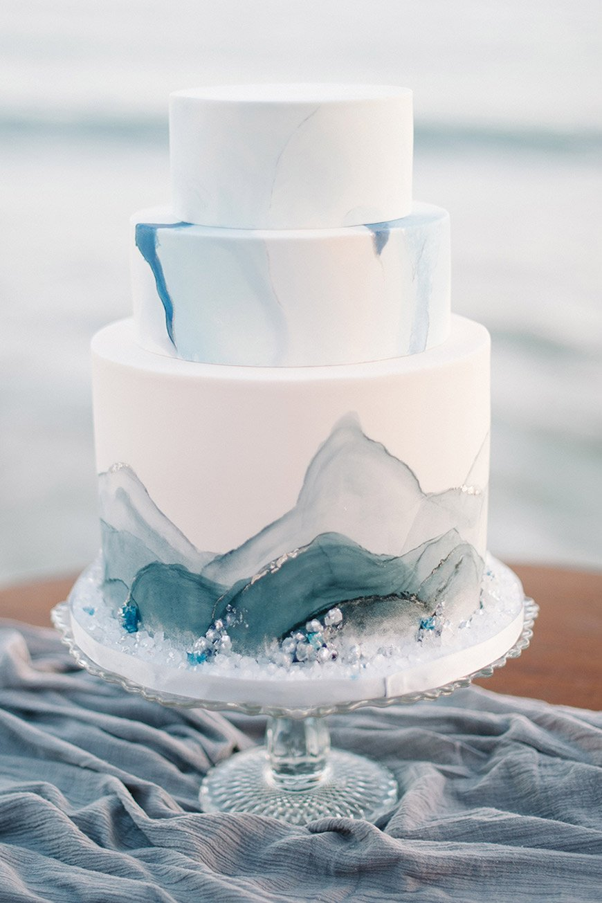 Why You Need A Watercolour Wedding Cake On Your Big Day | CHWV