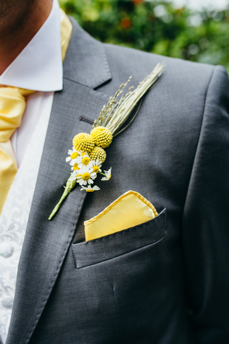 Wedding Ideas By Colour: Lemon Yellow Wedding Ideas - Groom | CHWV
