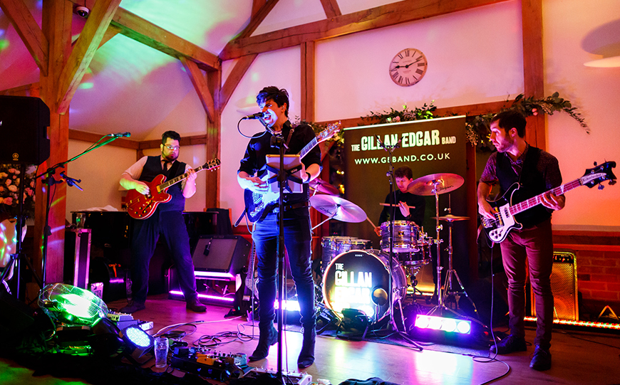 Our Venue Specialist's Perfect Wedding At Sandhole Oak Barn - Entertainment | CHWV