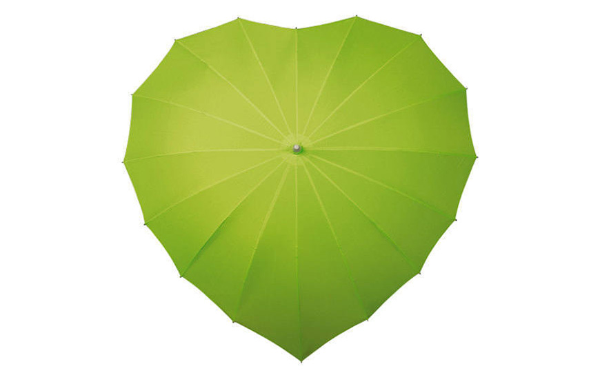 Wedding Ideas By Pantone Colour: Lime Punch - Umbrella | CHWV