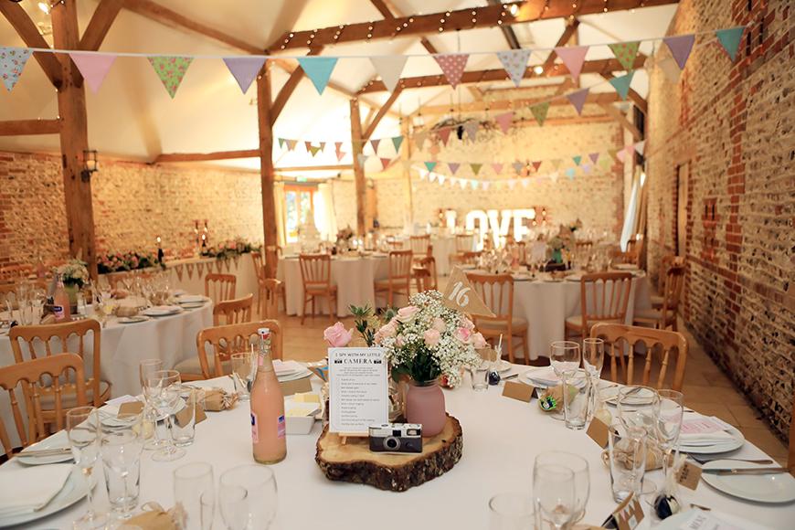 9 Spectacular Spring Wedding Venues - Upwaltham Barns | CHWV