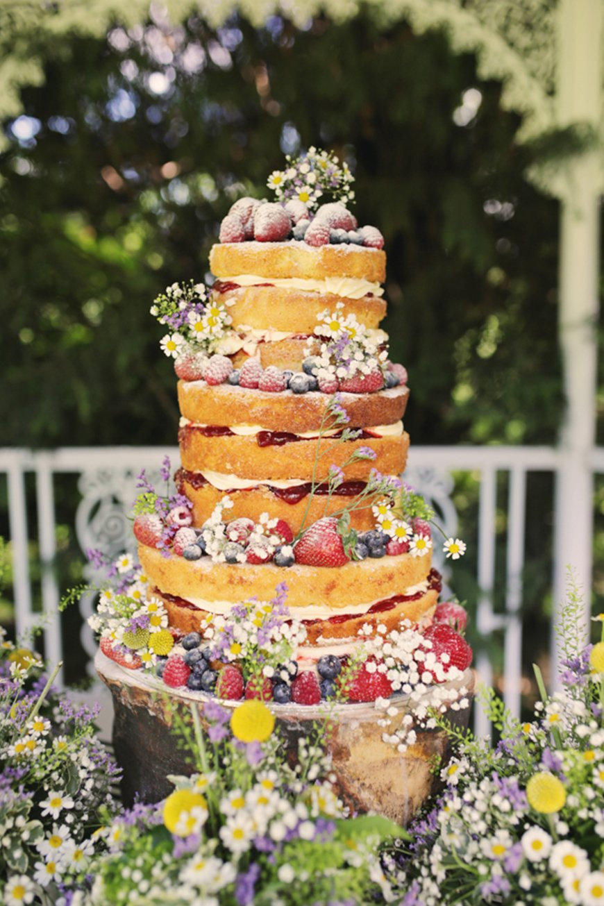 A-Z of Wedding Cakes - Victoria sponge | CHWV