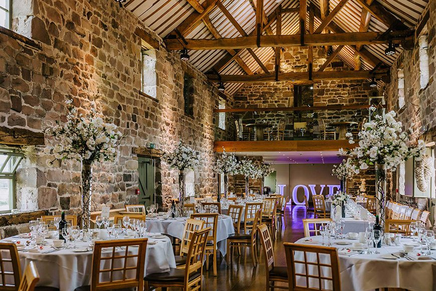 7 Venues For A Winter Wedding - The Ashes | CHWV