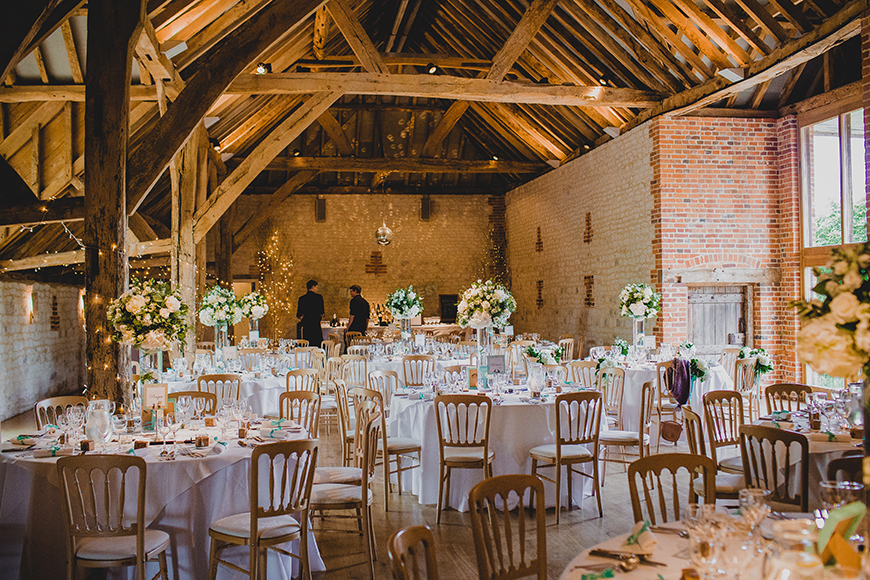 15 barn wedding venues in south east england chwv for Unique wedding venues north east