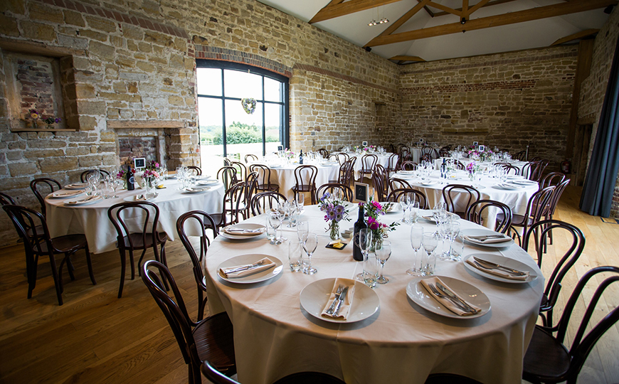 15 Barn Wedding Venues in South East England - Hendall Manor Barns | CHWV