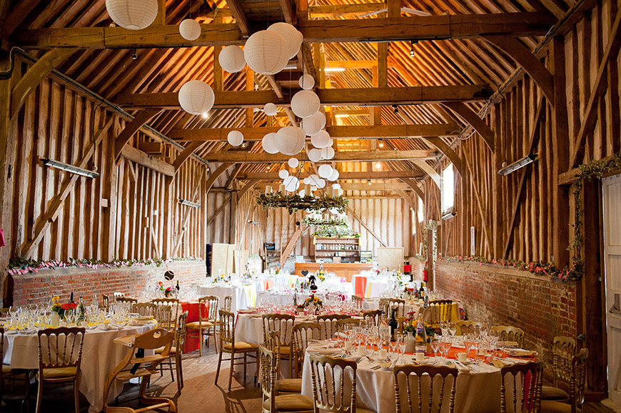 Barn Wedding Venues In South Bend A : Barn wedding venues in south east england lillibrooke manor