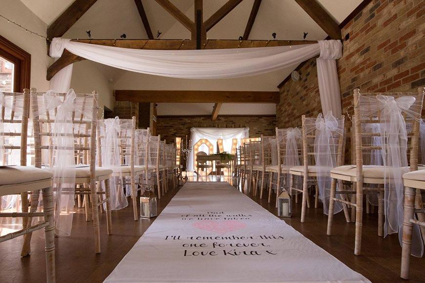 15 Barn Wedding Venues in South East England - Long Furlong Barn | CHWV