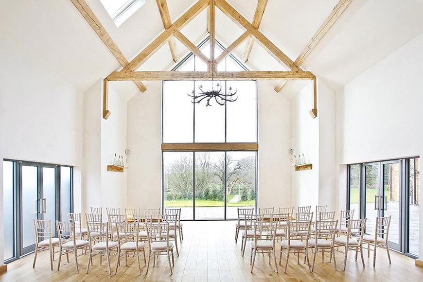 15 Barn Wedding Venues in South East England - Millbridge Court | CHWV