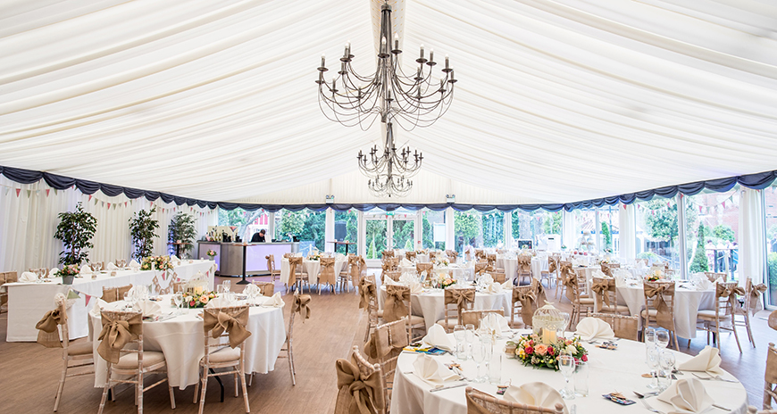 15 Barn Wedding Venues in South East England - Thursford Garden Pavilion | CHWV
