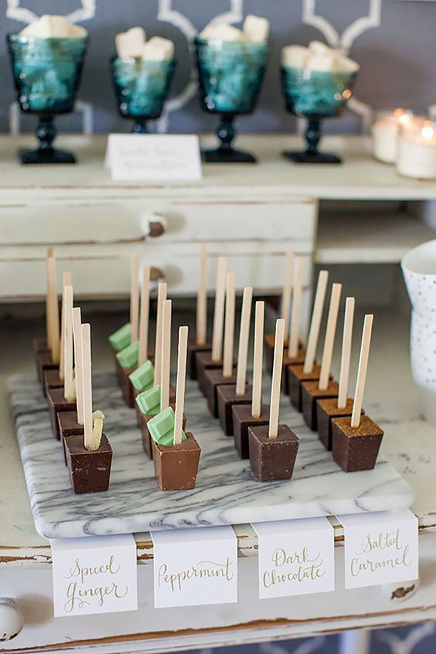 How To Throw The Best Winter Wedding - Finishing touches | CHWV
