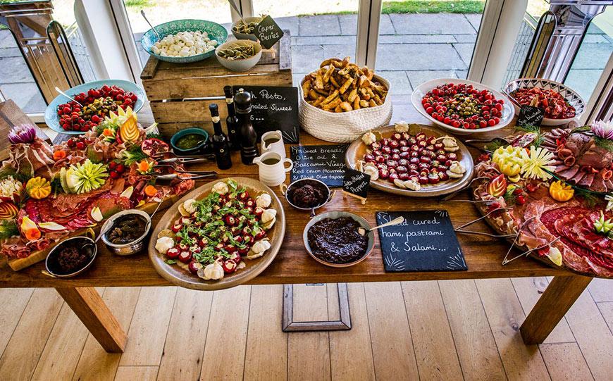 Amazing autumn wedding food ideas chwv amazing autumn wedding food ideas seasonal stations chwv junglespirit Gallery