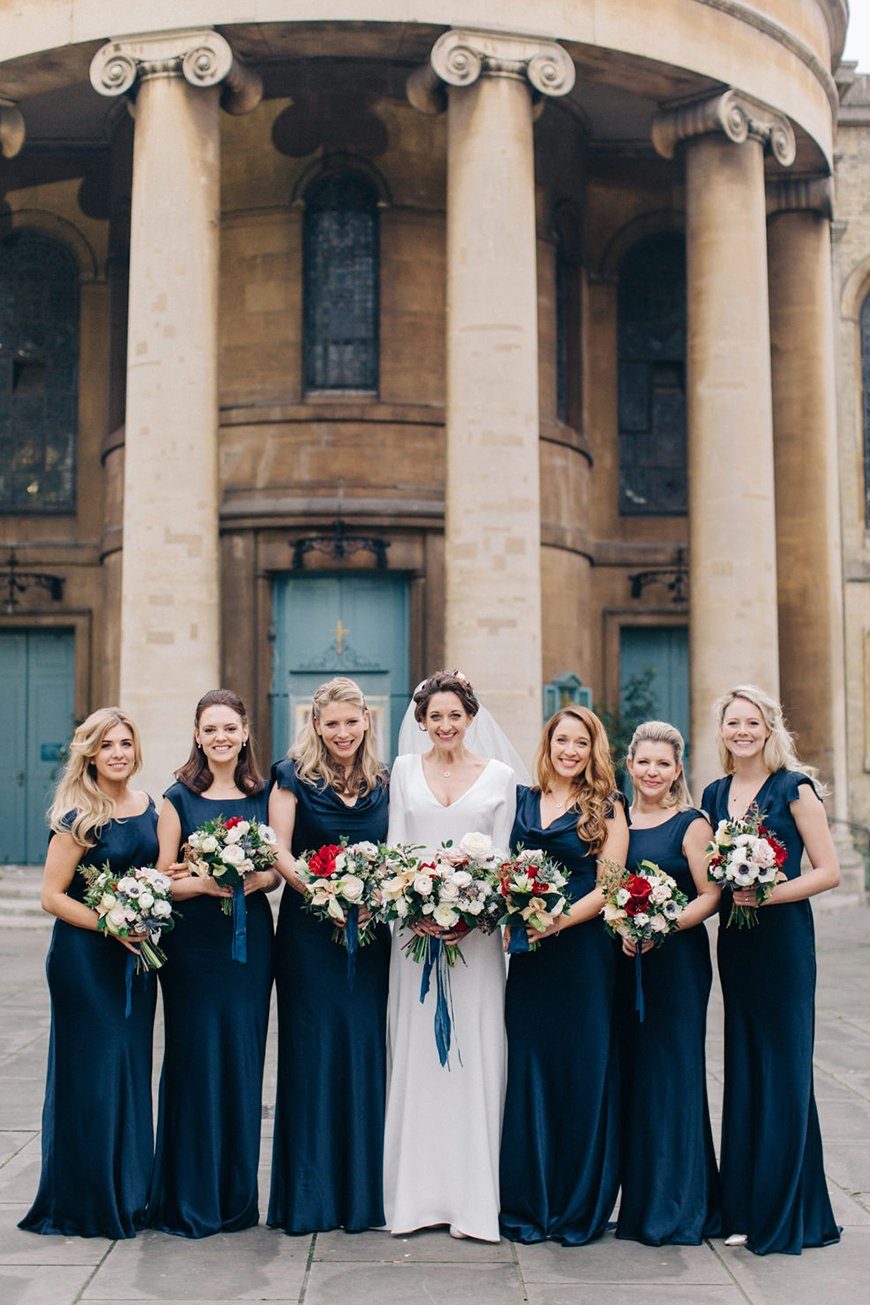 Our Venue Specialist's Perfect Wedding At Davenport House - The bridesmaids | CHWV