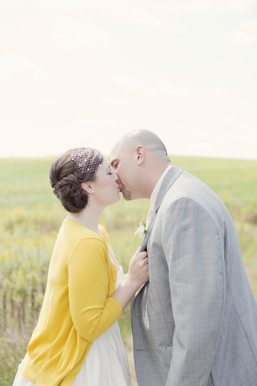 Wedding Ideas By Colour: Lemon Yellow Wedding Ideas - Cardigan | CHWV