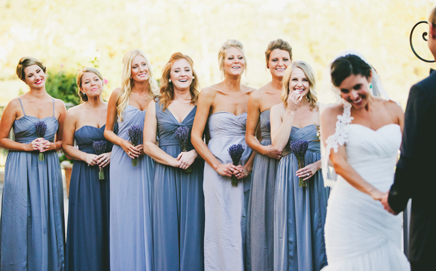 Wedding Ideas By Colour: Pastel Bridesmaid Dresses - In the mix | CHWV