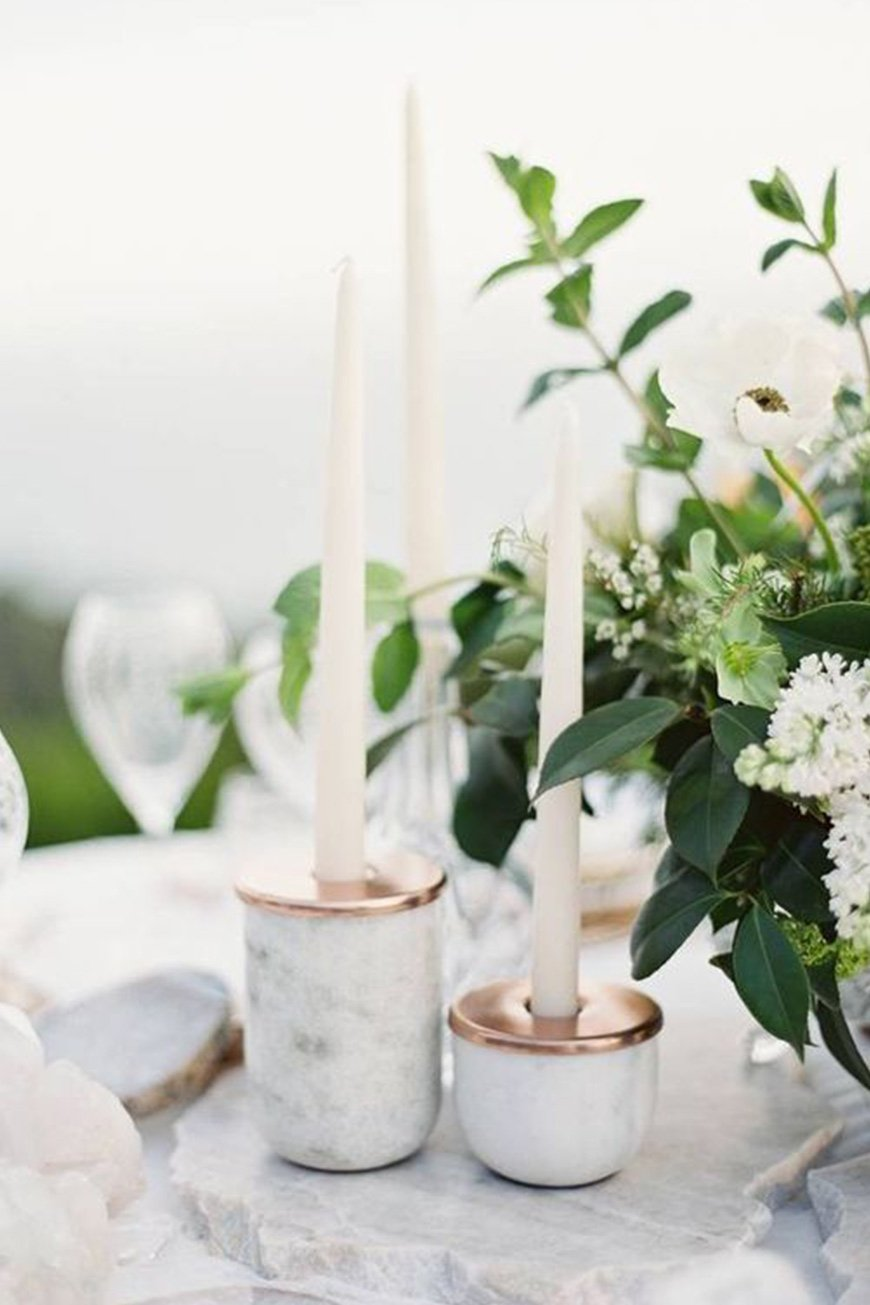 Wedding Ideas By Colour: Marble Wedding Ideas | CHWV