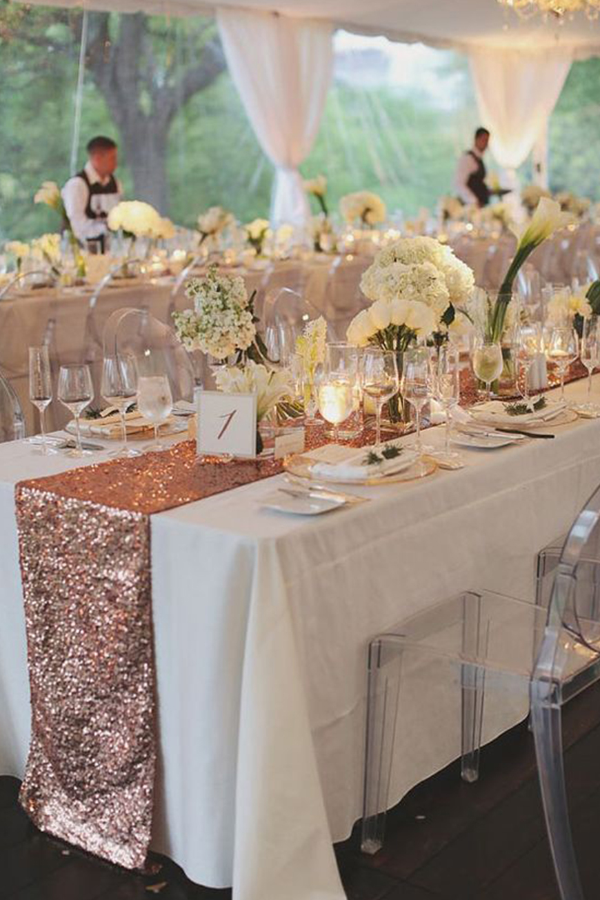 Find The Right Metallic For Your Wedding - La vie en rose | CHWV