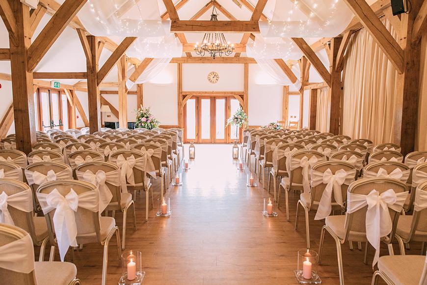 The Best Barn Wedding Venues - Sandhole Oak Barn | CHWV