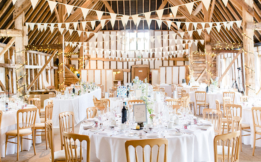 11 Wedding Venues With The Most Amazing Accommodation - Clock Barn | CHWV