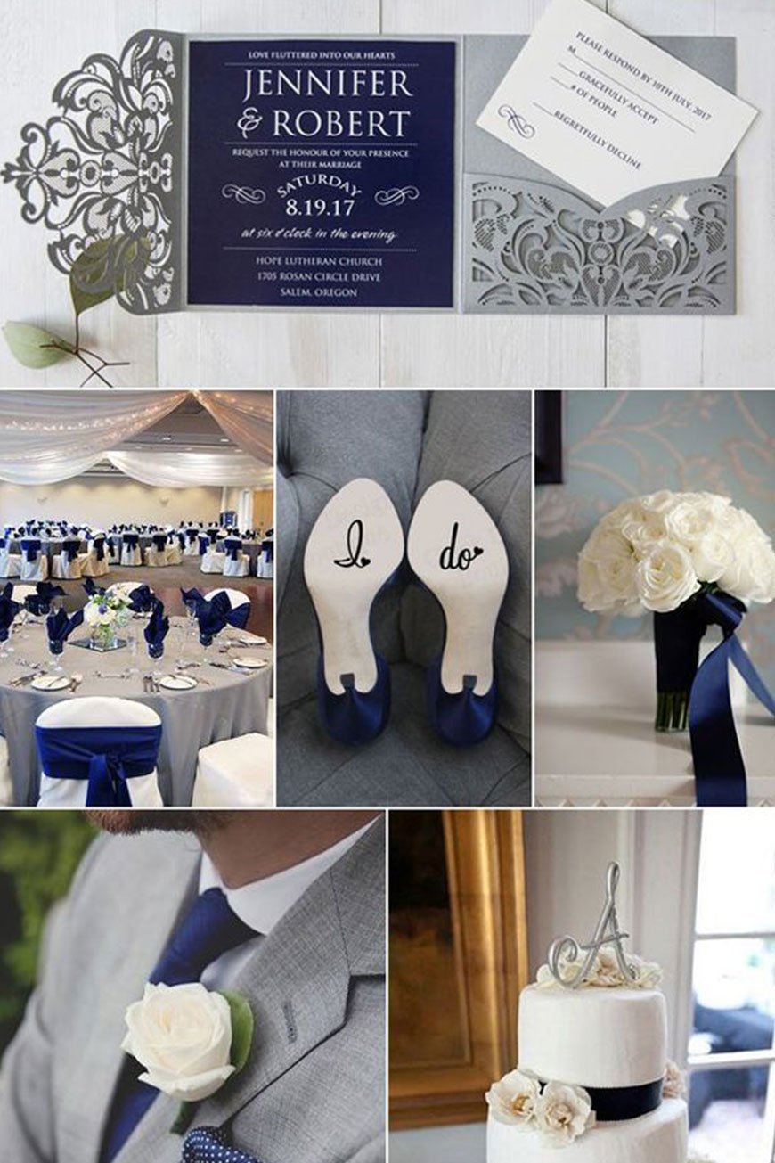 Wedding Ideas By Colour: Grey Wedding Theme | CHWV
