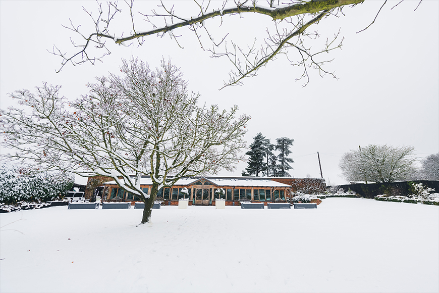9 Wonderful Winter Wedding Venues - Gaynes Park | CHWV