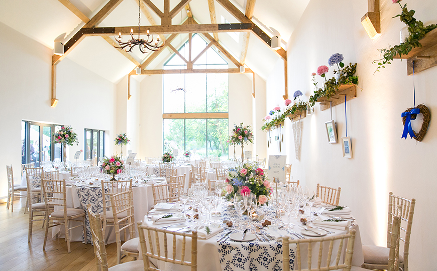 11 All-In-One Wedding Venues For The Perfect Day - Millbridge Court | CHWV