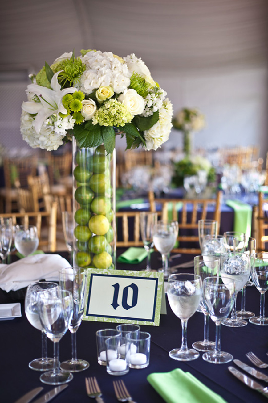 Wedding Ideas By Pantone Colour: Lime Punch - Decor | CHWV