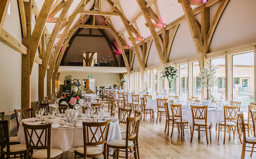 9 Contemporary Wedding Venues For An Unforgettable Day - The Mill Barn | CHWV