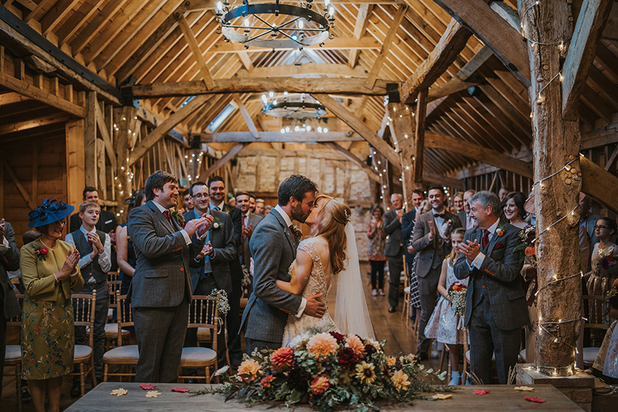 11 Autumn Wedding Venues To Fall In Love With - Bassmead Manor Barns | CHWV