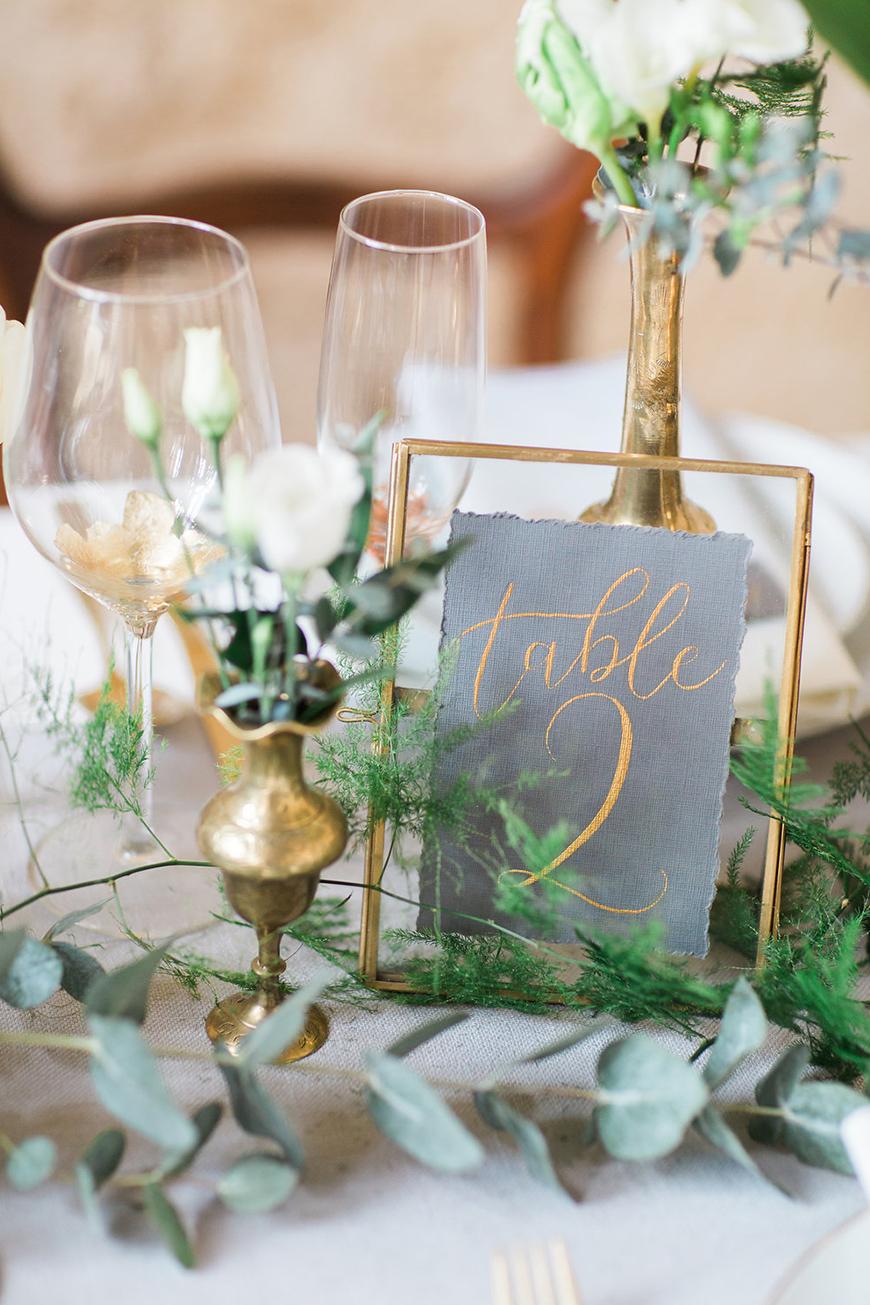 Green Wedding Stationery