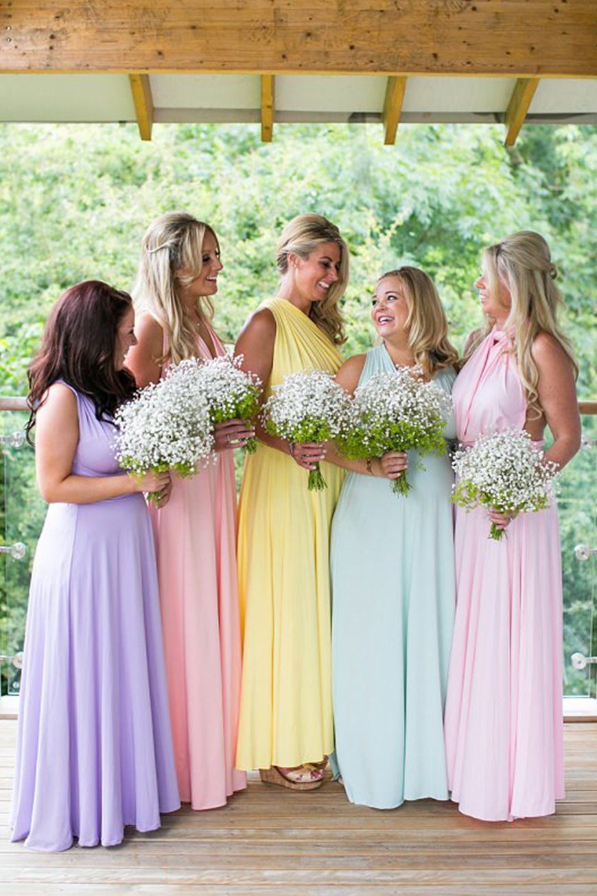 Bridesmaid Dresses Colours