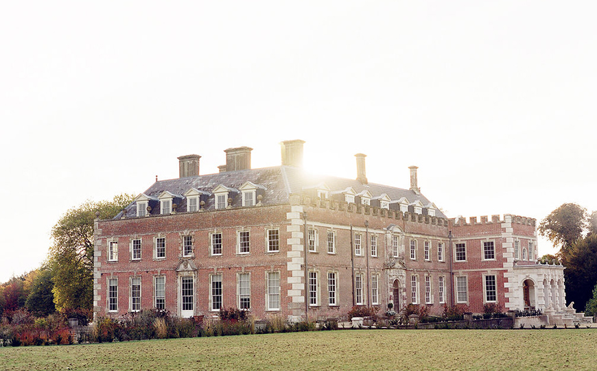 11 Country House Wedding Venues For A Spring Wedding - St Giles House | CHWV