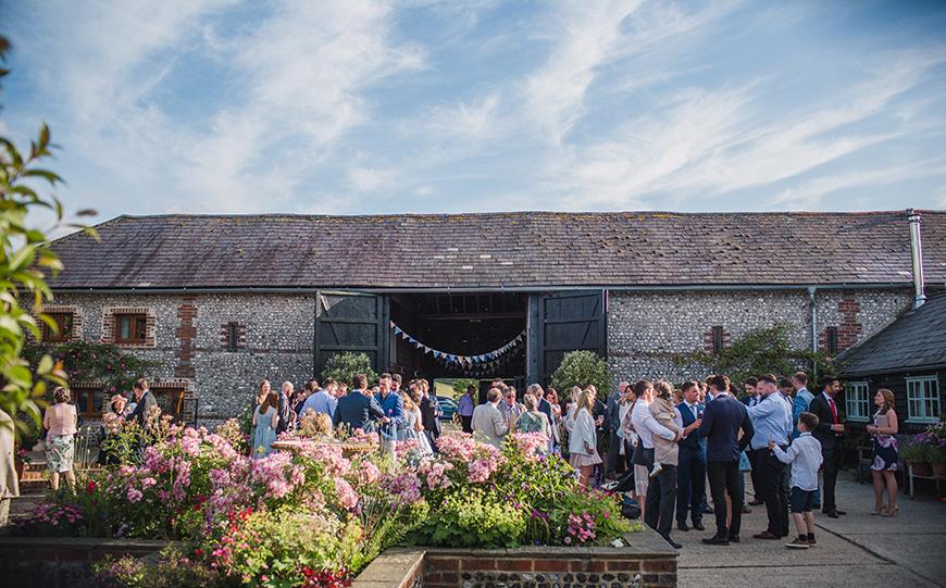 10 Stunning Spring Wedding Venues - Upwaltham Barns | CHWV