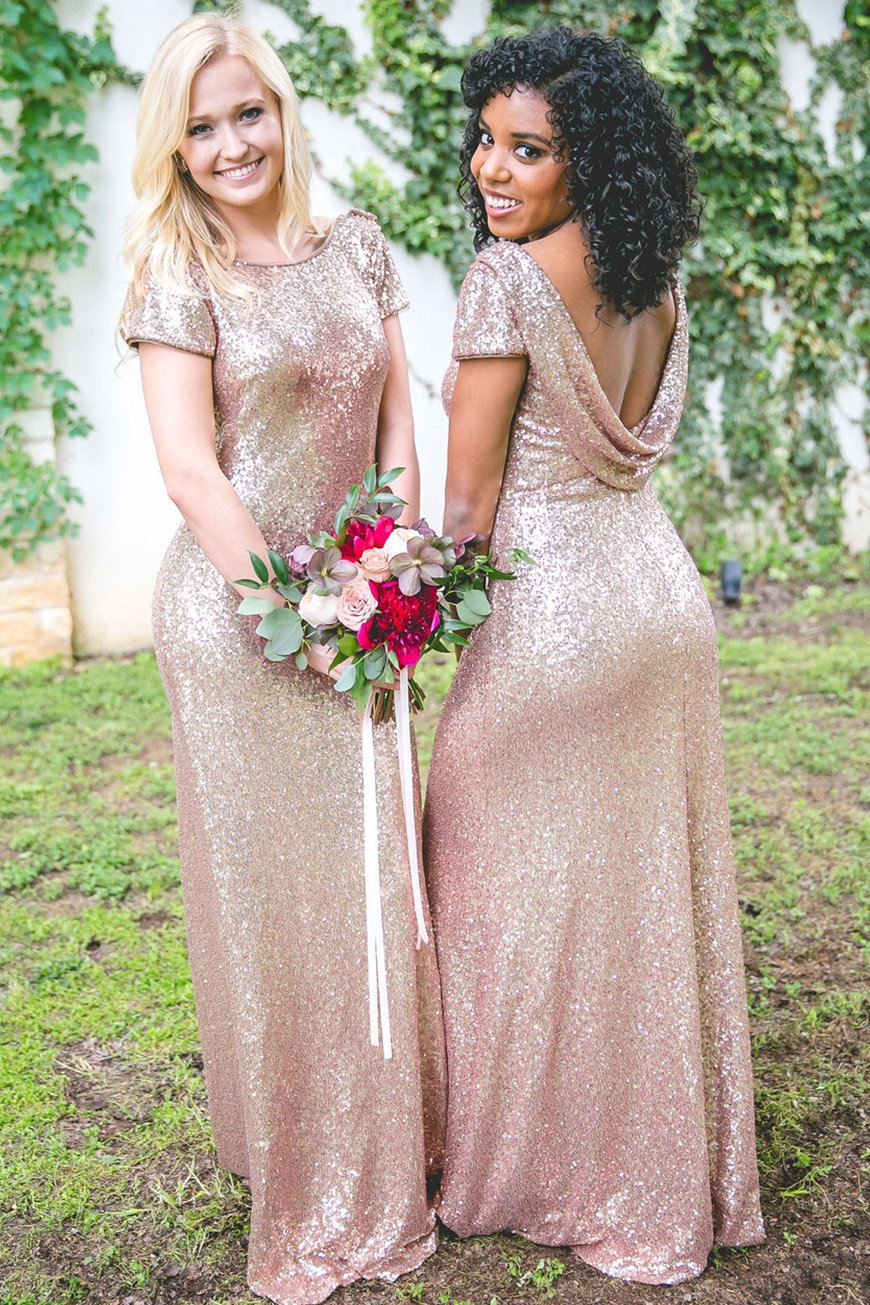Wedding Ideas By Colour: Rose Gold Wedding Theme - Bridal style | CHWV