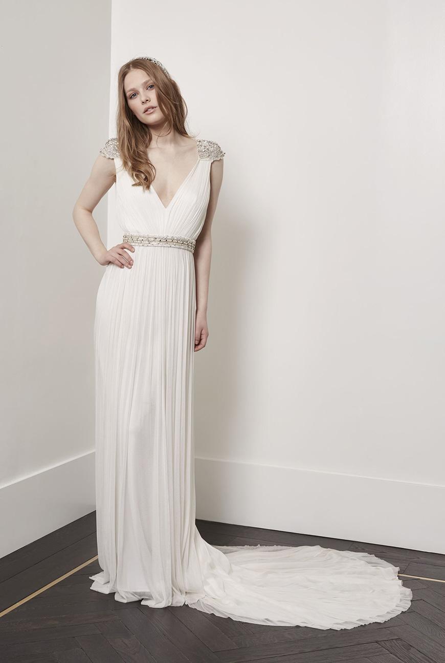 A Closer Look At Amanda Wakeley Wedding Dresses - Maya | CHWV