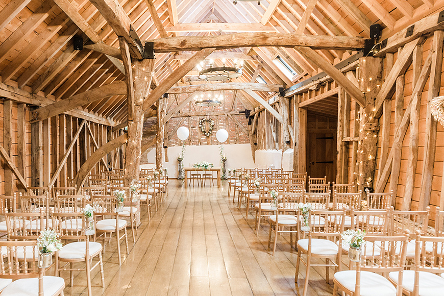 11 Barn Wedding Venues For An Autumn Wedding - Bassmead Manor Barns | CHWV