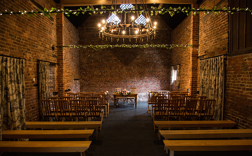 Exciting New Features At Curradine Barns - Ceremony space | CHWV