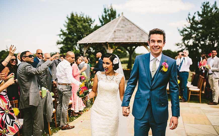 Perfect Outdoor Weddings At Mythe Barn | CHWV
