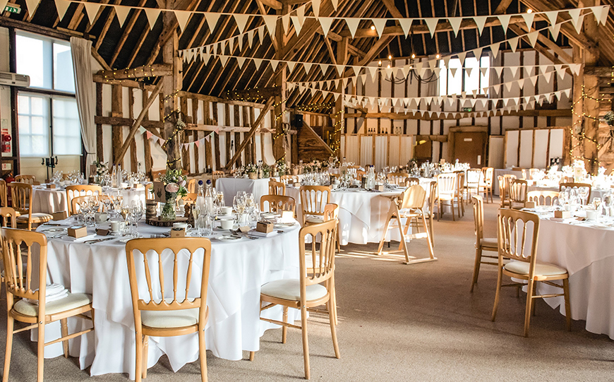 7 Wedding Venues In Hampshire You Won't Want To Miss - Clock Barn | CHWV