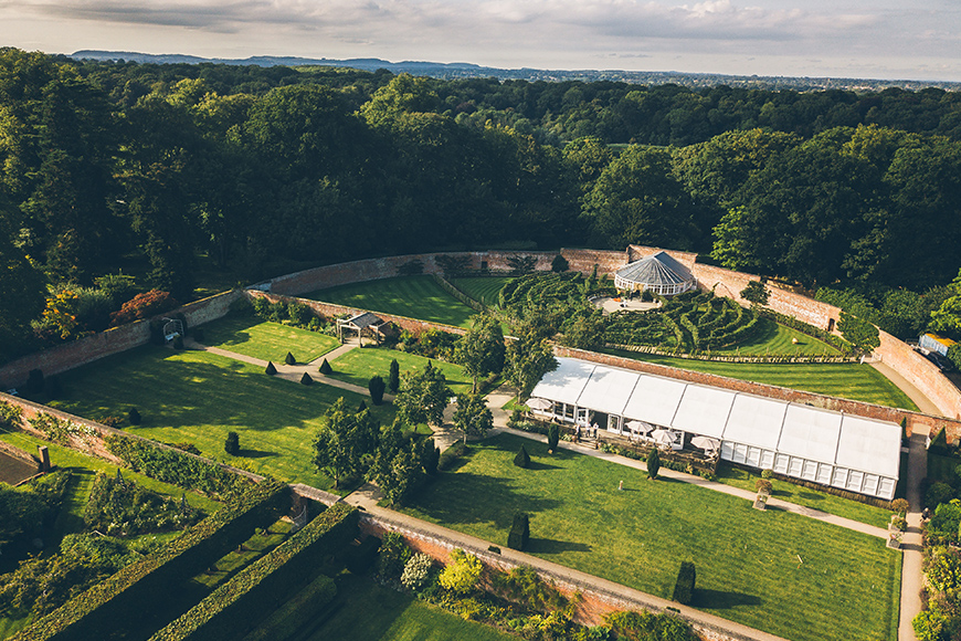 The Best Wedding Venues Of The North - Combermere Abbey | CHWV