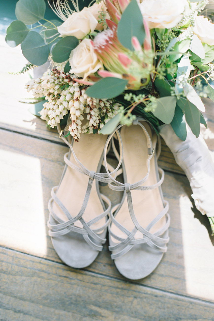 Wedding Ideas By Pantone Colour: Harbor Mist - Wedding shoes | CHWV